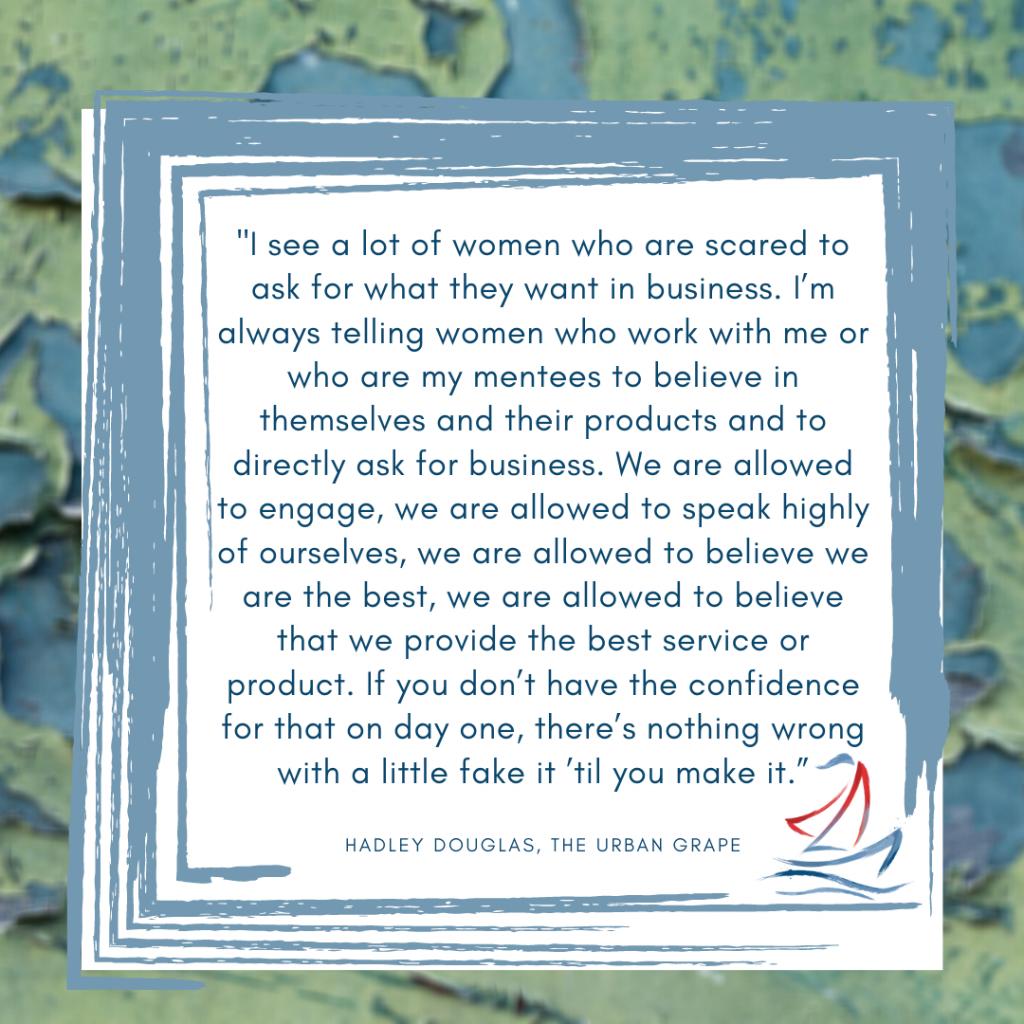 women in business, Hadley Douglas, Ride the Sail Marketing