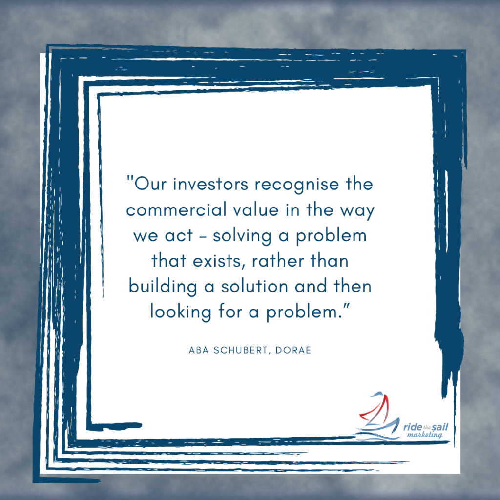 Ride the Sail Marketing, Aba Schubert, women quotes, solving a problem, women in business