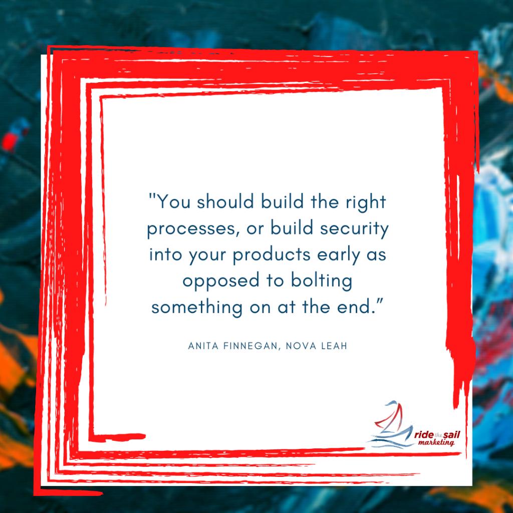 Anita Finnegan, women in business, Ride the Sail Marketing, quotes